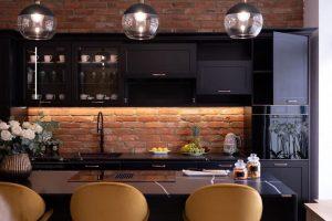 Glendale Kitchen Remodeling BLACK KITCHEN client 300x200